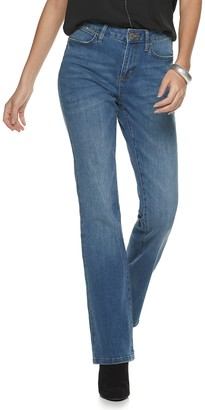 JLO by Jennifer Lopez Women's Flawless Sculpt Bootcut Jeans