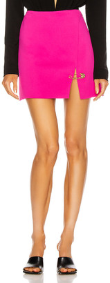 Versace Mini Skirt in Fuchsia | FWRD