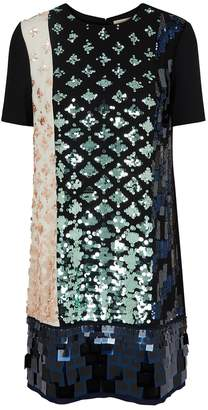 Tory Burch Sequin-embellished Chiffon Dress