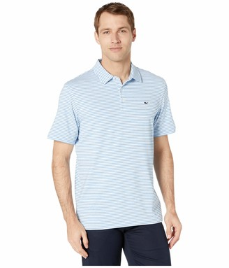Vineyard Vines Men's Heathered Winstead Sankaty Performance Polo