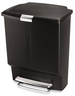 Simplehuman 60-Liter Rectangular Recycler
