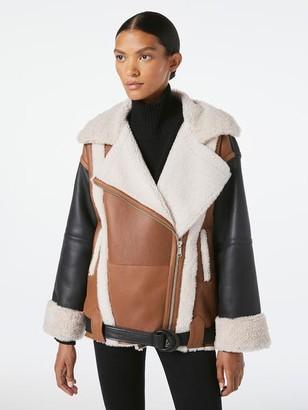 Frame Shearling Mix Jacket