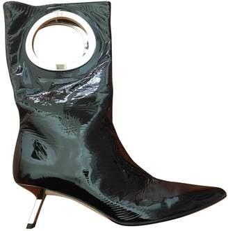 Alchimia di Ballin Black Patent leather Boots