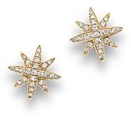Bloomingdale's Diamond Starburst Stud Earrings in 14K Yellow Gold, .25 ct. t.w.