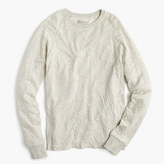 J.Crew Double-knit crewneck shirt