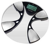 Escali Metallic Body Fat and Body Water Scale