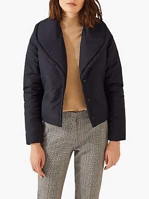 Jigsaw Shawl Collar Padded Jacket
