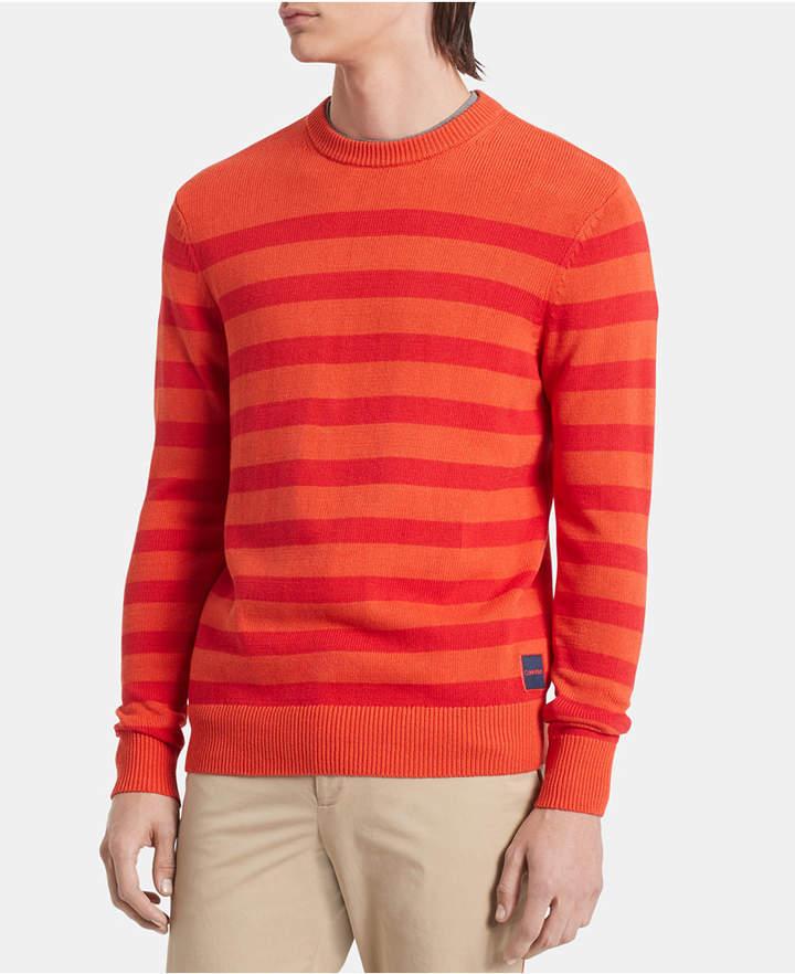 Calvin Klein Men Stripe Sweater