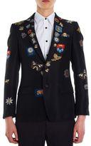 Alexander McQueen Engineered Badge Jacket