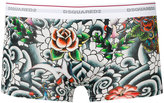 DSQUARED2 Tattoo boxers - men - Cotton/Spandex/Elastane - S