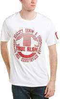 True Religion Circle Stripe Crew T-Shirt