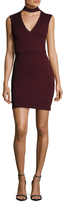 Bailey 44 Ponte Halter Sheath Dress