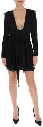 Saint Laurent V-Neck Dress