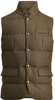 Ralph Lauren Purple Label Lloyd Wool Down Vest