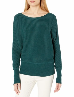 Daily Ritual Amazon Brand Women's Ultra-Soft Horizonal Knit Dolman Sweater