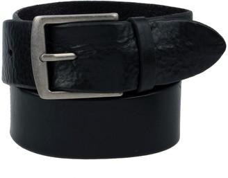 Frye Men's Leather Flat Panel Belt