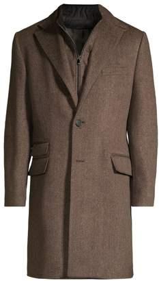Corneliani ID Wool Topcoat