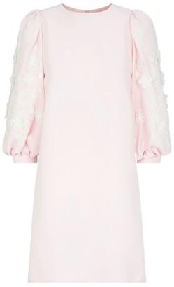 Andrew Gn Applique Mini Dress