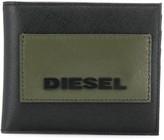 Diesel logo foldover wallet