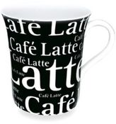 Waechtersbach Mug With Cafe Latte Wording in Black