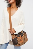 Tapa Distressed Messenger by TSD at Free People