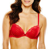 JCPenney Ambrielle Sensual Stripe Push Up Bra