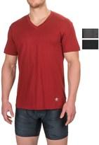 Lucky Brand Black Label Core V-Neck Undershirt - 3-Pack, Short Sleeve (For Men)