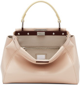 Fendi Pink Mini Peekaboo Bag