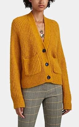 A.L.C. Women's Cleveland Rib-Knit Cardigan - Mustard