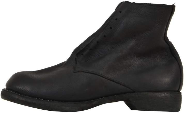 Guidi Black Leather Boots