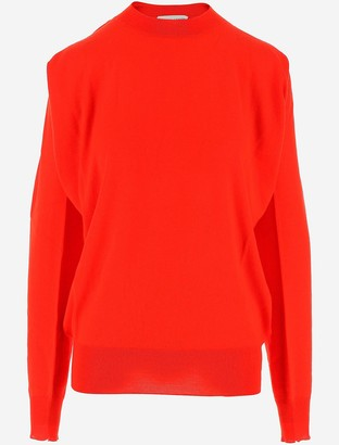 Bottega Veneta Red Merino Wool Women's Jumper