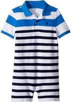 Ralph Lauren Cotton Mesh Polo Shortalls Boy's Overalls One Piece