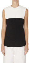 CHRISTOPHER ESBER Double Crepe Floating Bodice Struct Tank