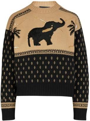 Alanui Wool-cashmere blend jumper