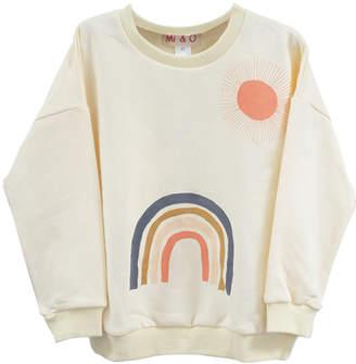 MIO Mi & O Rainbow Sweatshirt