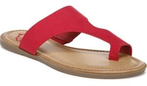 Fergalicious Sassy Toe Thong Flat Sandals Women's Shoes