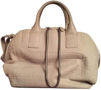 Alexander Wang Beige / Grey Leather Handbags