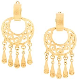 Chanel Pre Owned 1995 Tassel Earrings