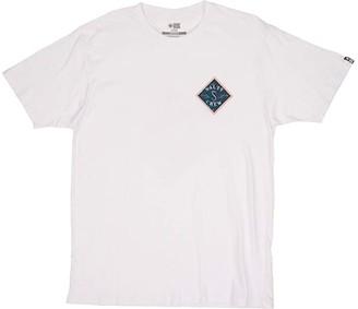 Salty Crew Tippet Nomad Premium Short Sleeve Tee (White) Men's Clothing