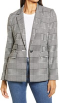 Halogen Glen Plaid Blazer