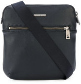 Armani Jeans logo plaque messenger bag - men - Polyamide/Polyester/Polyurethane - One Size