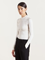 Rick Owens Women's High Collar Cropped Top