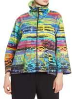 Caroline Rose Splash & Dash Stretch-Cotton Jacket