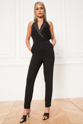 by the way. Melanie Halter Tuxedo Jumpsuit