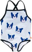 Tiny Cottons dog print swimsuit