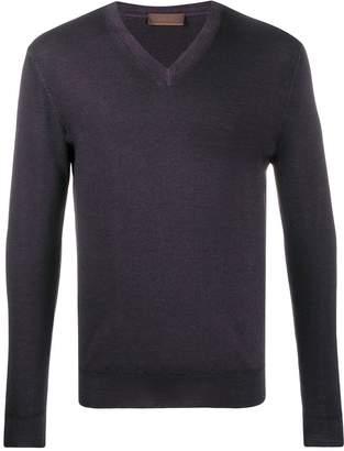 Altea V-neck slim-fit jumper