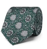 Dolce & Gabbana 6cm Printed Silk-twill Tie - Green