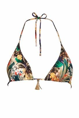 Watercult Triangle bikini top. - Multicolour - 36/10