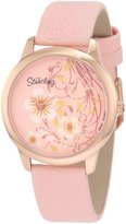 Stuhrling Original Women's Bouquet 34mm Leather Band Quartz Watch 199b.1145a4