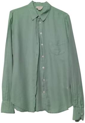 Band Of Outsiders Green Cotton Top for Women